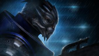 Garrus vakarian mass effect artwork fantasy art Wallpaper