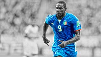 Hdr photography italy mario balotelli cutout soccer Wallpaper