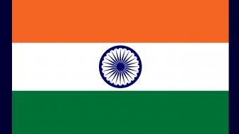 India flags nations wallpaper