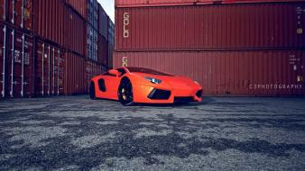 Lamborghini aventador cars containers coupe wallpaper