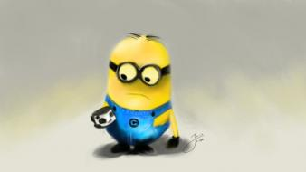 Lonely minion wallpaper