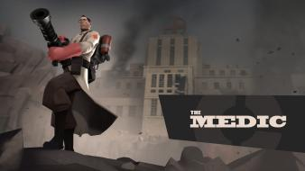 Medic tf2 team fortress 2 valve corporation Wallpaper