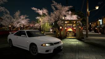 Nissan skyline r33 gtr playstation 3 cars wallpaper