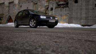 Norway volkswagen golf iv cars wallpaper