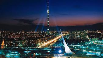 Ostankino tower russia wallpaper