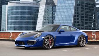 Porsche 991 topcar blue cars carrera wallpaper