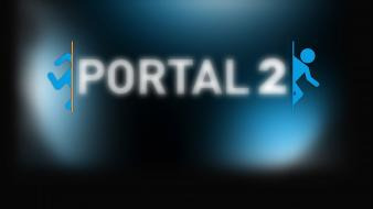 Portal 2 valve corporation video games wallpaper