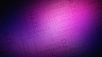Purple typography background wallpaper