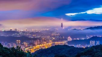Taipei 101 landscapes wallpaper