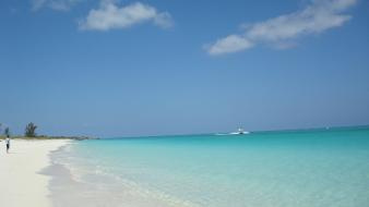 Turks and caicos islands beaches boats shore vehicles wallpaper