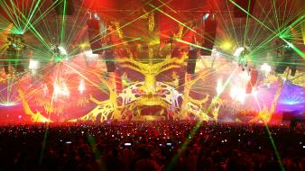 2009 qdance events lasers qlimax wallpaper