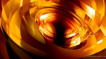 3d abstract glow vibrant wallpaper