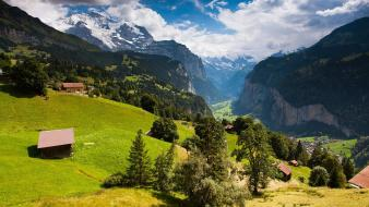 Alps letra switzerland blue cities Wallpaper