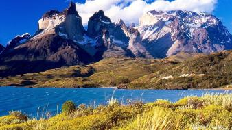 Argentina patagonia mountains Wallpaper