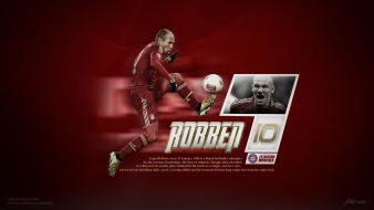 Arjen robben bayern munchen bundesliga munich football players Wallpaper