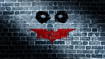 Batman funny symbol wall wallpaper