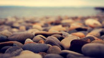 Beaches rocks stones wallpaper