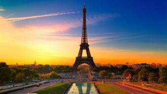 Beautiful paris eiffel tower wallpaper