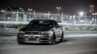 Black nissan skyline Wallpaper