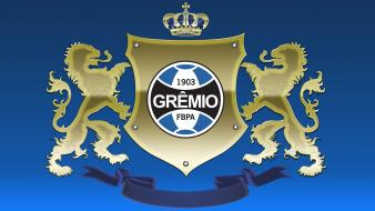 Brazil soccer football logos gremio grêmio teams wallpaper