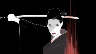 Clothes kill bill lucy liu o-ren ishii wallpaper