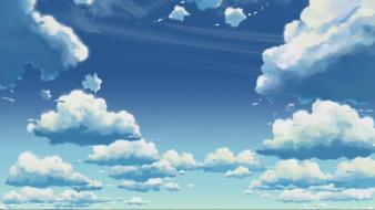 Clouds landscapes skies Wallpaper