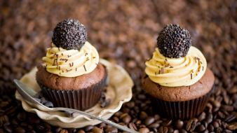 Cupcakes food wallpaper