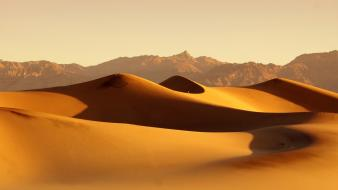 Deserts dunes landscapes mountains nature wallpaper