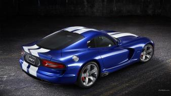 Dodge viper gts srt10 srt blue cars Wallpaper