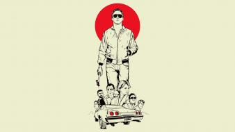 Drive (movie) ryan gosling fan art movies wallpaper