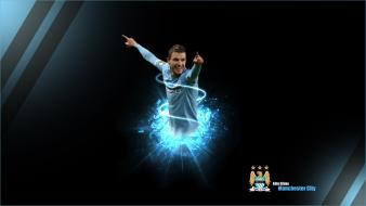 Edin dzeko manchester city football players soccer sports Wallpaper