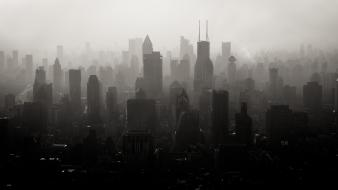 Evan spiler shanghai around the world smog Wallpaper
