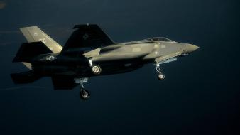 F-35 lightning ii aircraft wars wallpaper