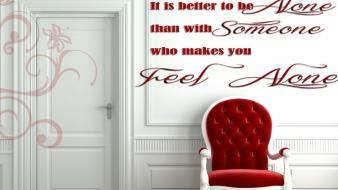 Fantasy quotes red sayings white door wallpaper