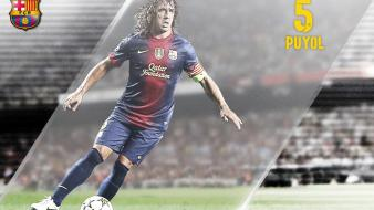 Fc barcelona puyol football teams sports wallpaper