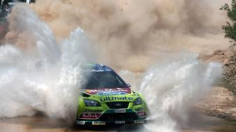 Ford focus wrc cars racing rally wallpaper