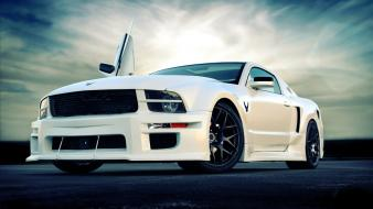 Ford mustang shelby gt500 cars depth of field wallpaper