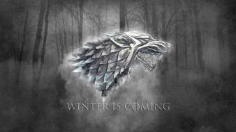 Game of thrones house stark winter is coming Wallpaper