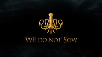 Game thrones house greyjoy kraken tv series wallpaper