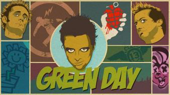 Green day rock band music punk wallpaper