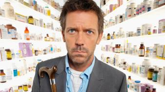 Gregory house md hugh laurie Wallpaper