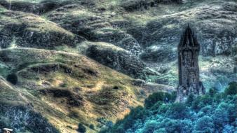 Hdr photography scotland wallace monument william wallpaper