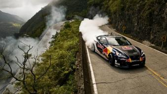 Hyundai genesis coupe red bull cars drift wallpaper