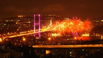 Istanbul turkey bosphorus cities cityscapes wallpaper