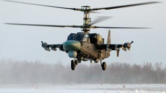 Kamov ka-52 alligator helicopters wallpaper