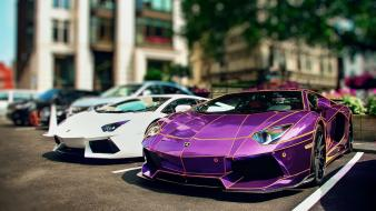 Kit lamborghini aventador tron chrome performance wallpaper
