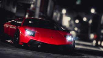 Lamborghini murcielago cars races video games wallpaper