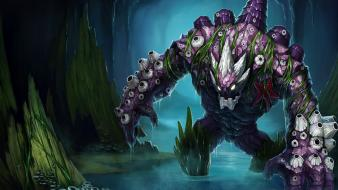 League of legends malphite artwork fantasy art monsters Wallpaper