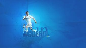 Manchester city sergio football players premier league Wallpaper
