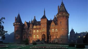 Netherlands architecture buildings castle castles wallpaper